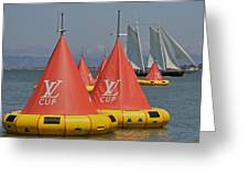 San Francisco America's Cup Greeting Card