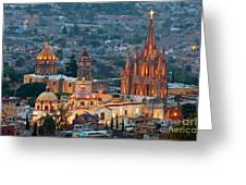 San Miguel De Allende, Mexico Greeting Card
