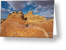 Sandstone Vermillion Cliffs N Greeting Card