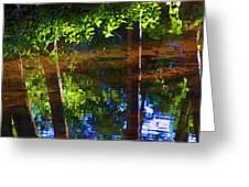 Santa Anita Creek Greeting Card