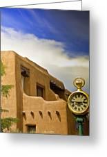 Santa Fe Time Greeting Card