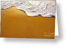 Sea Foam Greeting Card
