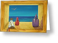 Sea View One Greeting Card