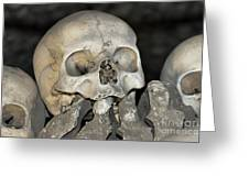Sedlec Ossuary - Charnel House Greeting Card