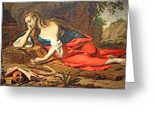 Seghers' The Repentant Magdalen Greeting Card