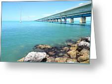 Seven Mile Bridge-1 Greeting Card