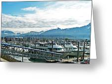 Seward Alaska Greeting Card
