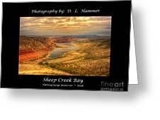 Sheep Creek Bay Greeting Card