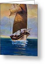 Ship Ahoy Greeting Card