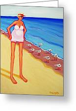 Shorebirds Of A Feather Greeting Card