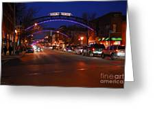 D8l-353 Short North Gallery Hop Photo Greeting Card