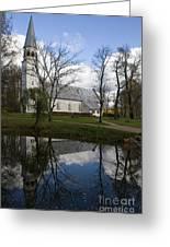 Sigulda Church Greeting Card