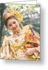 Sinulog Festival In Cebu Of Philippines Greeting Card