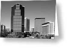 Skyline Of Tucson Az Greeting Card