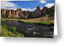 Smith Rock State Park - Oregon Greeting Card