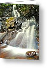 Smoky Mountain Falls Greeting Card