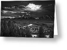 Snake River Overlook Greeting Card by Andrew Soundarajan