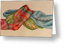 Socks 1 Greeting Card