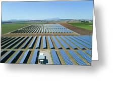 Solar Array Greeting Card