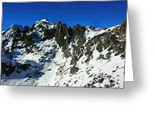 Southern Alps New Zealand Greeting Card