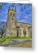St Andrews Aysgarth Greeting Card