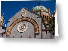St. Augustine Florida Church Greeting Card