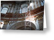 St. Charles Church - Karlskirche - In Vienna Greeting Card