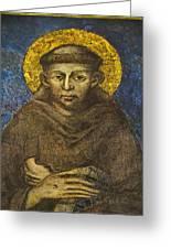 St Francis Greeting Card