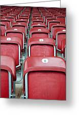 Stadium Seats Greeting Card by Frank Gaertner