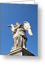 Statue In Vatican City Greeting Card