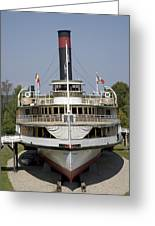 Steamboat Ticonderoga Greeting Card