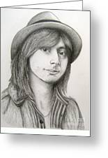 Steve Perry Greeting Card