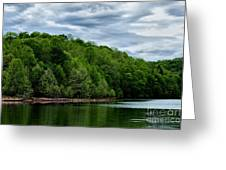 Stonewall Jackson Lake Wildlife Management Area Greeting Card