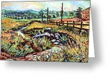 Stroubles Creek Greeting Card