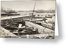 Suez Canal Port Said Greeting Card