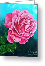 Summer Rose Greeting Card