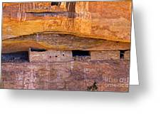 Sun Point View Mesa Verde National Park Greeting Card