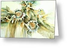Sunflowers V Greeting Card