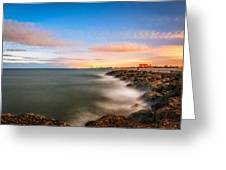 Sunrise Ft. Pierce Inlet Greeting Card