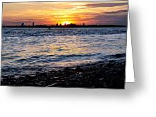 Sunset Beauty Greeting Card