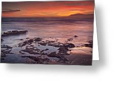 Sunset In Marbella Greeting Card