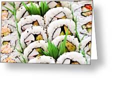 Sushi Platter Greeting Card