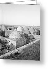 Syria Beehive Village Greeting Card