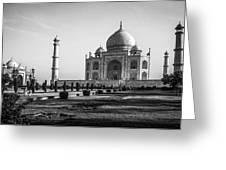 Taj Mahal Agra Greeting Card