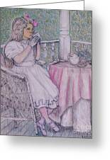Tea Time For Alexis Greeting Card