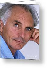 Terence Stamp Greeting Card