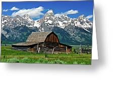 Teton Barn Greeting Card