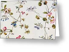 Textile Design Greeting Card