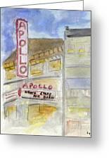 The Apollo Theatre Greeting Card