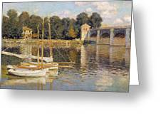 The Argenteuil Bridge Greeting Card